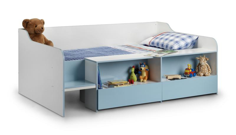 Julian Bowen Stella Low Sleeper Cabin Bed in Blue £169